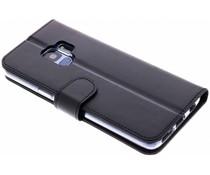 Valenta Schwarzes Booklet Classic Luxe für das Samsung Galaxy S9