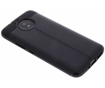 Leder Silikon-Case für Motorola Moto G5S