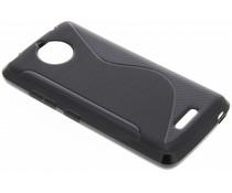 Schwarze S-Line TPU Hülle für Motorola Moto C Plus