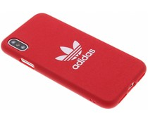 adidas Originals Rotes Adicolor Moulded Case iPhone Xs / X