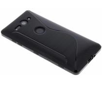 Schwarze S-Line TPU Hülle für Sony Xperia XZ2 Compact