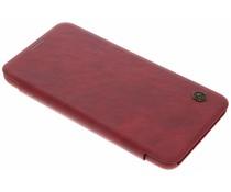 Nillkin Qin Leather Slim Booktype Hülle Rot für das LG V30