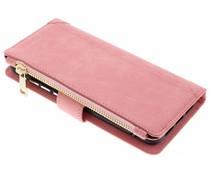 Rosa Luxuriöse Portemonnaie-Hülle für das Huawei P20