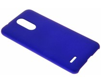 Blaue Unifarbene Hardcase-Hülle für LG K11