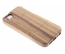 Hardcase aus echtem Bambus-Holz iPhone 5 / 5s / SE