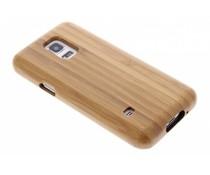 Hardcase aus echtem Bambus-Holz Samsung Galaxy S5 Mini
