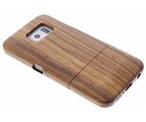 Hardcase aus echtem Bambus-Holz Samsung Galaxy S6