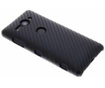 Carbon Look Hardcase-Hülle Schwarz für Sony Xperia XZ2 Compact
