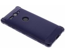 Blaues Xtreme Silikon-Case Sony Xperia XZ2 Compact
