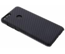Carbon Look Hardcase-Hülle Schwarz für Huawei P Smart