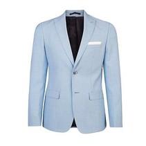 Moda chaqueta ajuste delgado con lana