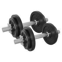 Dummbelset 20kg - with shutters