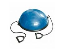 Half balance ball with elastic