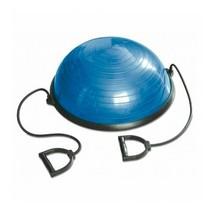 bola de equilibrio con la mitad elástica