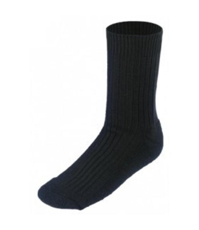 Boru Sokken zwart 50% wol
