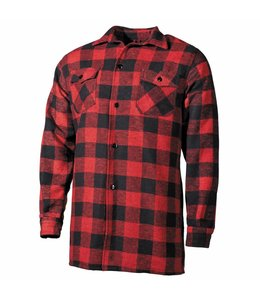 Shirt, lumberjack, red/Zwart, checkered