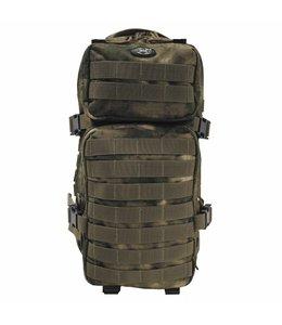 "Rugzak ""Assault I"" 30 liter, HDT camouflage Groen"