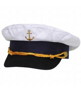 Marine pet, anchor gold embroidered, Verstelbaar