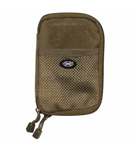 """Document Bag, """"MOLLE"""" small, coyote tan"""