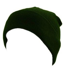 Commando muts (watch cap) fijn Groen