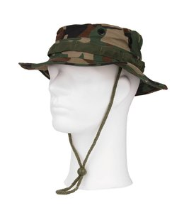 Bush hat luxe ripstop Woodland camo