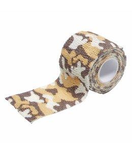 camouflage Tape, self-adhesive, 5 cm x 4,5 m, desert
