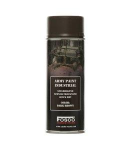Legerverf Spray (spuitbus) 400 ml. Dark Brown