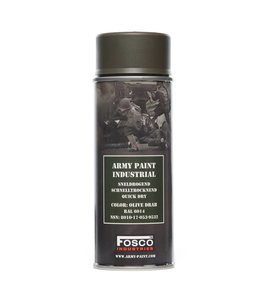 Legerverf Spray (spuitbus) 400 ml. Olive drab  ral.6014