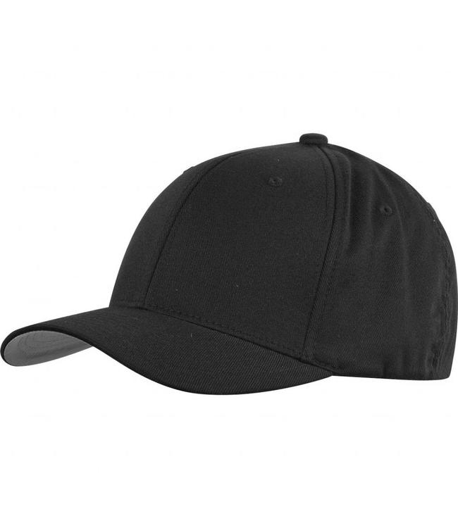 Flexfit Wooley combed cap zwart passende pet