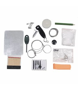 Combat Survival Kit, waterproof box