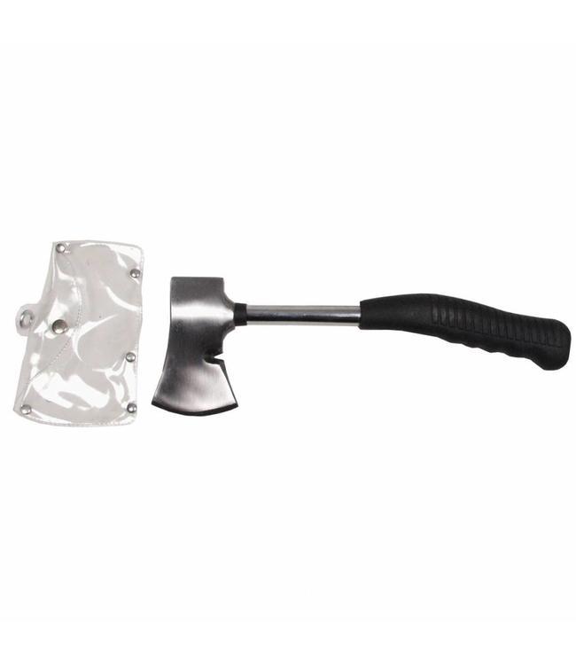 Camping Bijl, rubber handle, ca. 33 cm