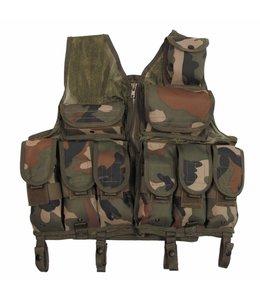 Tactical Vest, woodland camouflage, Verstelbaar