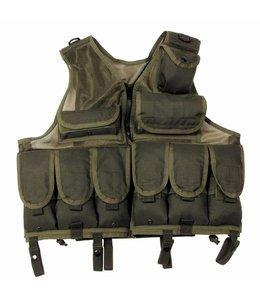 Tactical Vest, OD Groen, Verstelbaar