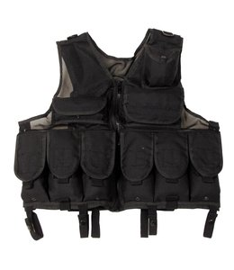 Tactical Vest, Zwart, Verstelbaar