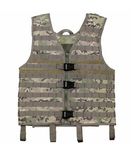"Tactical vest ""Molle light"", modular, operation camouflage"