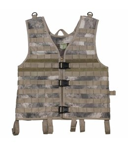 "Tactical vest ""Molle light"", modular, HDT camouflage"