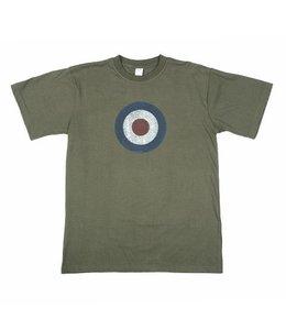 T-shirt Royal Air Force (RAF) Groen