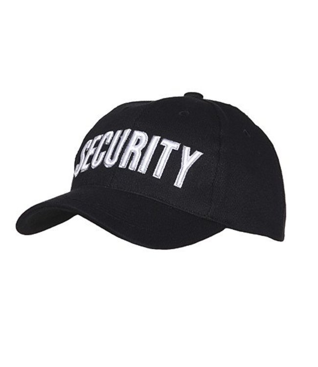 Baseball pet Security Zwart