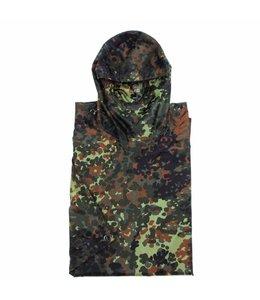 US Poncho, Rip Stop, BW camouflage, size: 144 x 223 cm
