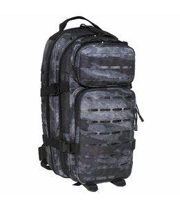 """Rugzak Assault I 30 liter, """"Laser"""", HDT camouflage grijs"""