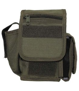 Riem Pouch with 3 compartments, OD Groen