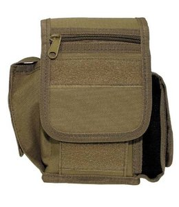 Riem Pouch with 3 compartments, coyote tan