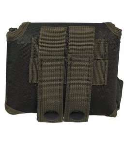 """Tas """"Molle"""", met pouch, woodland camouflage"""