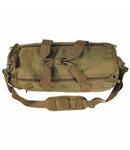 "Operation Tas, round, ""Molle"", coyote tan"