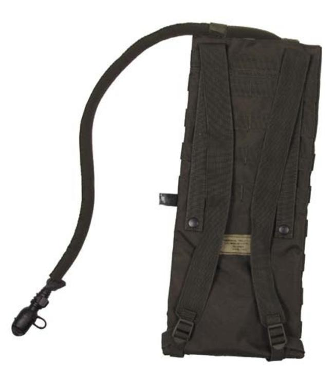 """Hydration Pack, """"Molle"""", met drinking cup 2,5 l, OD Groen"""