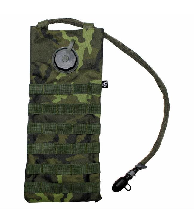 "Hydration Pack, ""Molle"", met drinking cup 2,5 l, CZ camouflage"