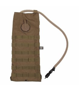 """Hydration Pack, """"Molle"""", met  drinking cup 2,5 l, coyote tan"""