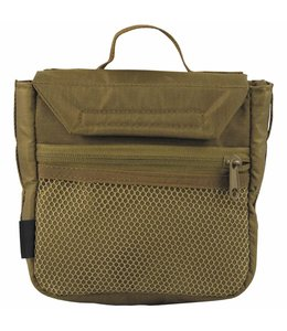 """Utility Pouch, coyote tan, """"Mission II"""", Klittenband system"""