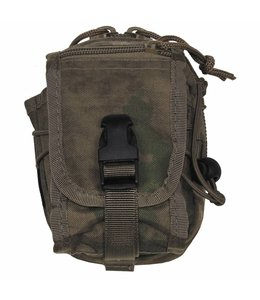 """Utility Pouch, """"Molle"""", small, HDT camouflage Groen"""