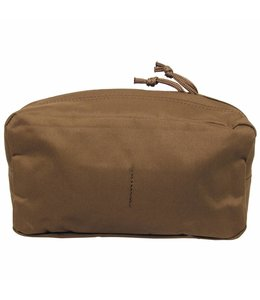 "Utility Pouch, ""Molle"", big, coyote tan"